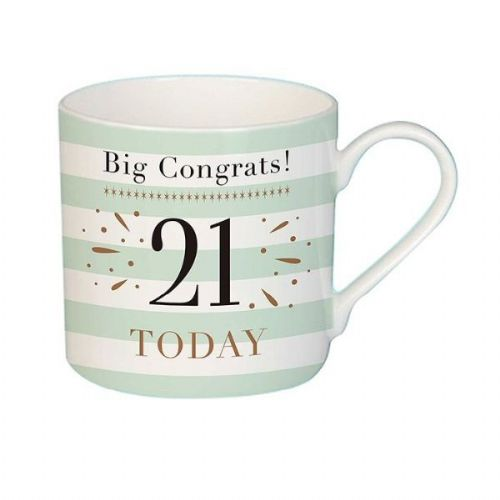 Big Congrats 21 Mug female